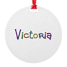 Victoria Play Clay Ornament