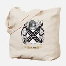 Blair Coat of Arms Tote Bag