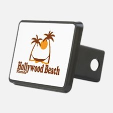 Hollywood Beach - Palm Trees Design. Hitch Cover