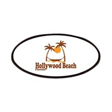 Hollywood Beach - Palm Trees Design. Patches