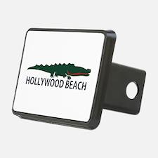 Hollywood Beach - Alligator Design. Hitch Cover