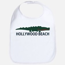 Hollywood Beach - Alligator Design. Bib