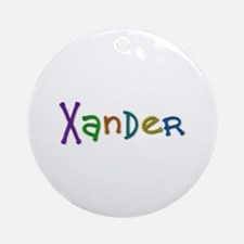 Xander Play Clay Round Ornament