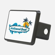 Hollywood Beach - Surf Design. Hitch Cover