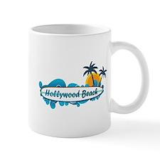 Hollywood Beach - Surf Design. Mug