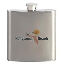 Hollywood Beach - Map Design. Flask
