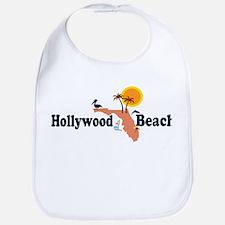 Hollywood Beach - Map Design. Bib