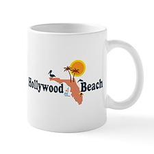 Hollywood Beach - Map Design. Mug