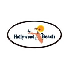 Hollywood Beach - Map Design. Patches
