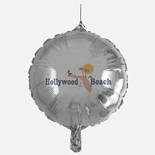 Hollywood Beach - Map Design. Balloon