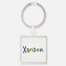 Xander Play Clay Square Keychain