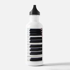 Piano Keys Water Bottle