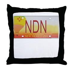 New Mexico NDN Pride Throw Pillow