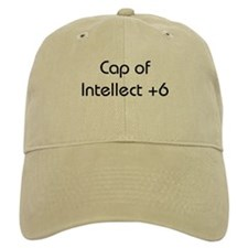 Baseball Cap of Intellect +6