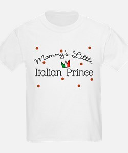 Mommy's Little Italian Prince T-Shirt
