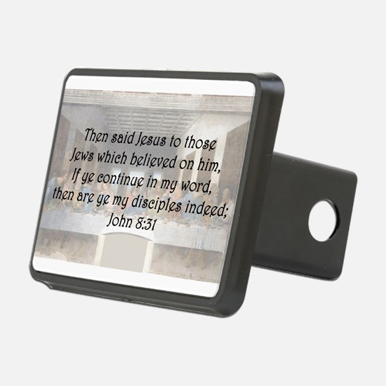John 8:31 Hitch Cover