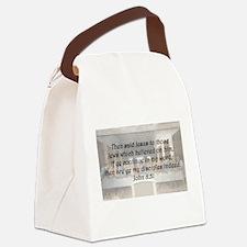John 8:31 Canvas Lunch Bag