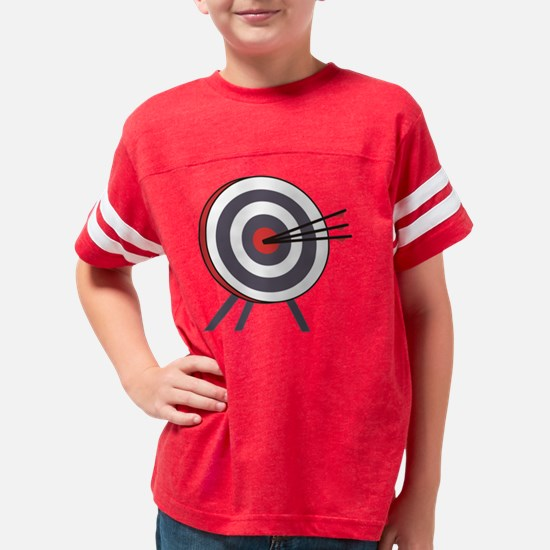 ARCHERY TARGET & ARROWS  Youth Football Shirt