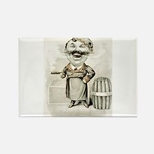 The jolly smoker - 1880 Magnets