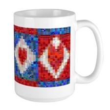 Red Heart Patchwork... Mug