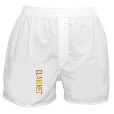 Clarinet Stamp Boxer Shorts