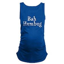 bah_humbug_b.png Maternity Tank Top