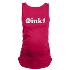 oink.png Maternity Tank Top