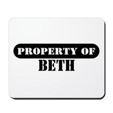 Property of Beth Mousepad