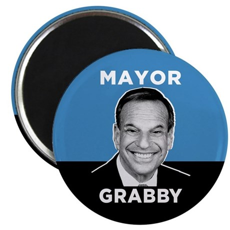 Mayor Grabby San Diego Magnet
