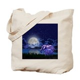 Contemplative elephants Canvas Totes