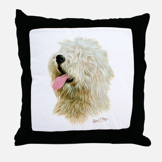 Old Eng. Sheepdog / Bobtail Throw Pillow