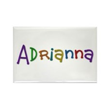 Adrianna Play Clay Rectangle Magnet