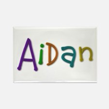 Aidan Play Clay Rectangle Magnet