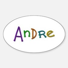 Andre Play Clay Oval Decal