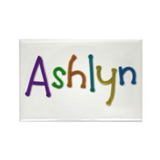 Ashlyn Play Clay Rectangle Magnet