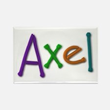 Axel Play Clay Rectangle Magnet