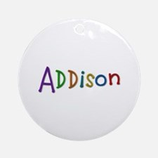 Addison Play Clay Round Ornament