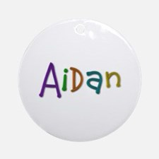 Aidan Play Clay Round Ornament