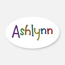 Ashlynn Play Clay Oval Car Magnet