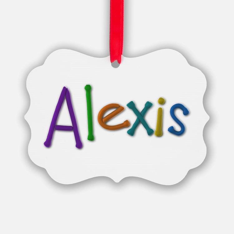 Alexis Play Clay Ornament