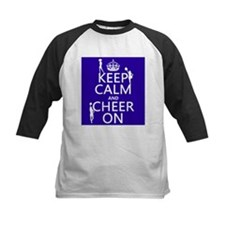 Keep Calm and Cheer on Baseball Jersey