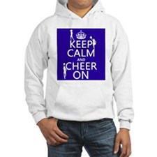 Keep Calm and Cheer on Jumper Hoody