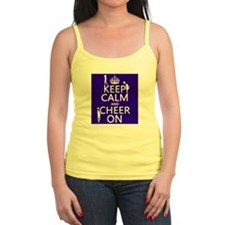 Keep Calm and Cheer on Tank Top