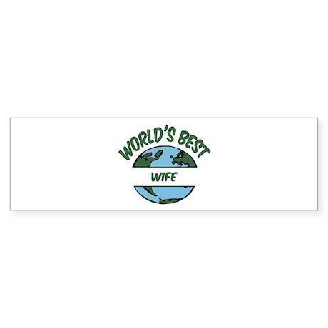 World's Best Wife Bumper Sticker