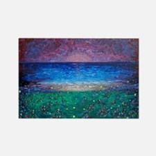 Firefly Beach Rectangle Magnet (100 pack)