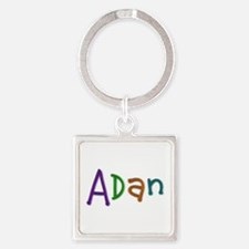 Adan Play Clay Square Keychain