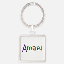 Amari Play Clay Square Keychain