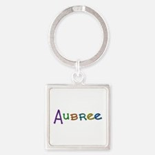 Aubree Play Clay Square Keychain