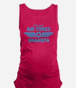 Proud Air Force Grandpa W Maternity Tank Top