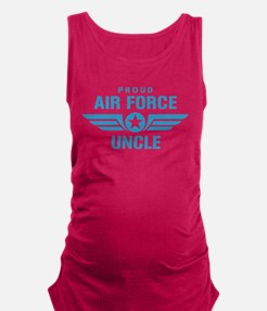Proud Air Force Uncle W Maternity Tank Top